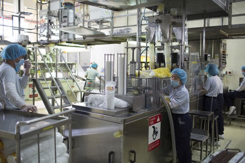 Chinese Manufacturing Grew