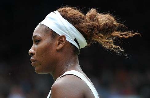 US Tennis Player Serena WilliamsUS player Serena Williams
