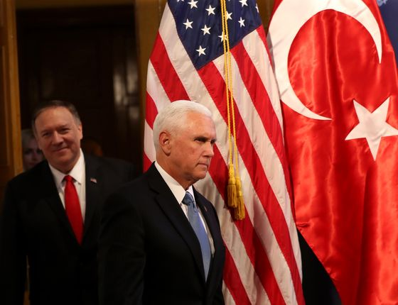Turkey, U.S. Agree to Brief Cease-Fire to Allow Kurdish Retreat