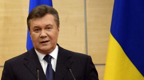 Toppled President Viktor Yanukovych