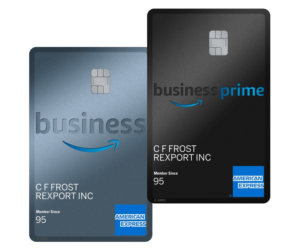 Amazon Debuts No Fee Amex Card To Lure Small Business Spending