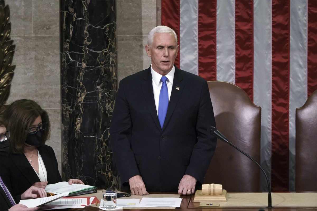 Pence Won't Act to Remove Trump Says Nation Needs Healing – Bloomberg