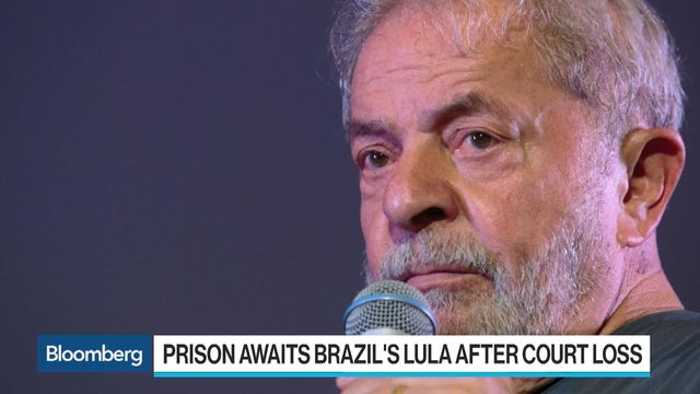 Brazil's Supreme Court to rule on prison for Lula