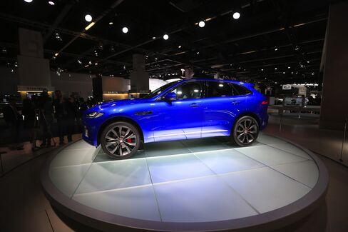 Jaguar's F-Pace SUV at Frankfurt Motor Show