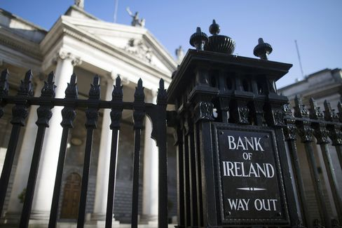 Irish Banks Boost Funding With Own-Use Bonds Amid Cyprus Crisis