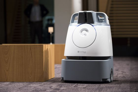 SoftBank's Next Robot After Pepper Skips Chit Chat, Mops Floors