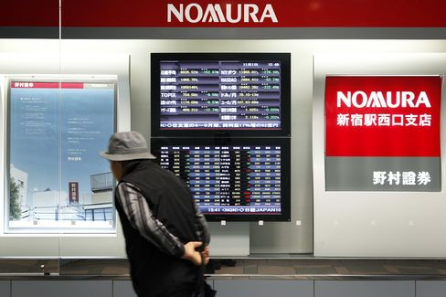 Nomura Said to Be Cutting 30 in Fixed-Income Unit Shakeup
