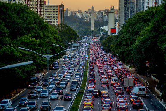 My Life Stuck in Brazil's Terrible Traffic