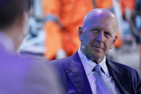 Goldman CEO Sees Reason for Trading Optimism After Weak Year-End