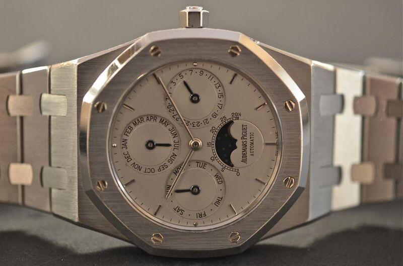 The mid-90s Audemars Piguet Royal Oak Perpetual Calendar hits the sweet spot between modern and vintage watches.