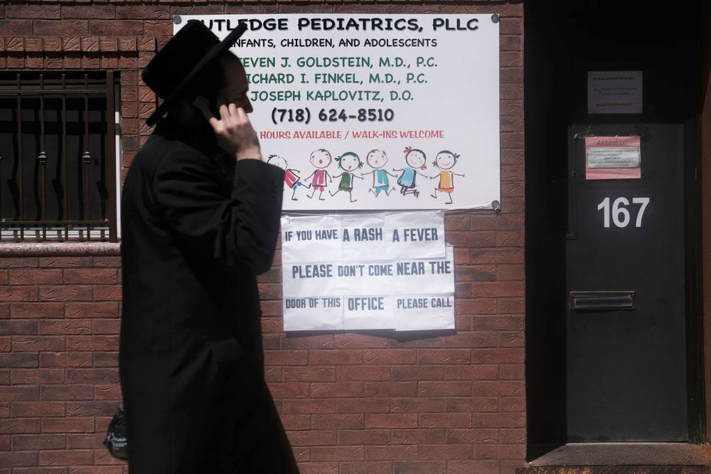 Before I Stopped Believing Vaccines >> Measles Outbreak New York And Religious Law Agree On Vaccines