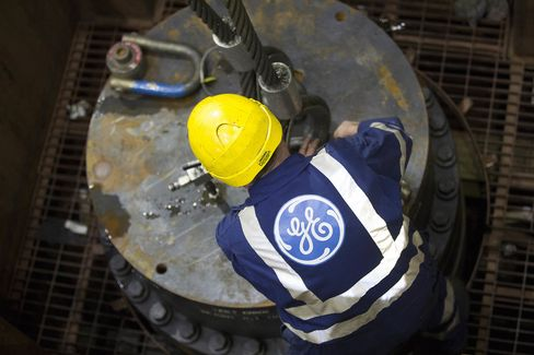 Stock Images of General Electric Co. And Alstom SA As GE Said To Be In Aquisition Talks