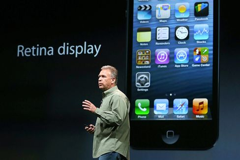 Apple Shows Off a Taller, Thinner, Faster iPhone 5