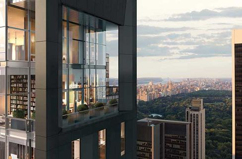 Rendering of the Baccarat Residences $60 million penthouse