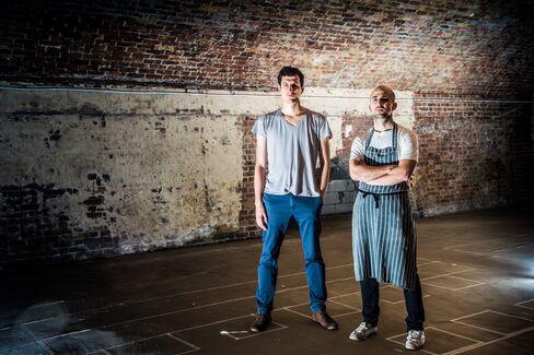 Restaurateurs Mattia Bianchi, left, and Josh Katz.
