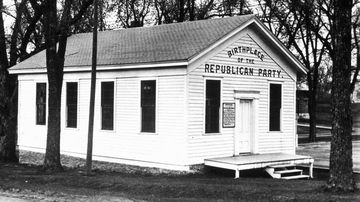 The birthplace of the Republican Party in Ripon, Wisconsin.