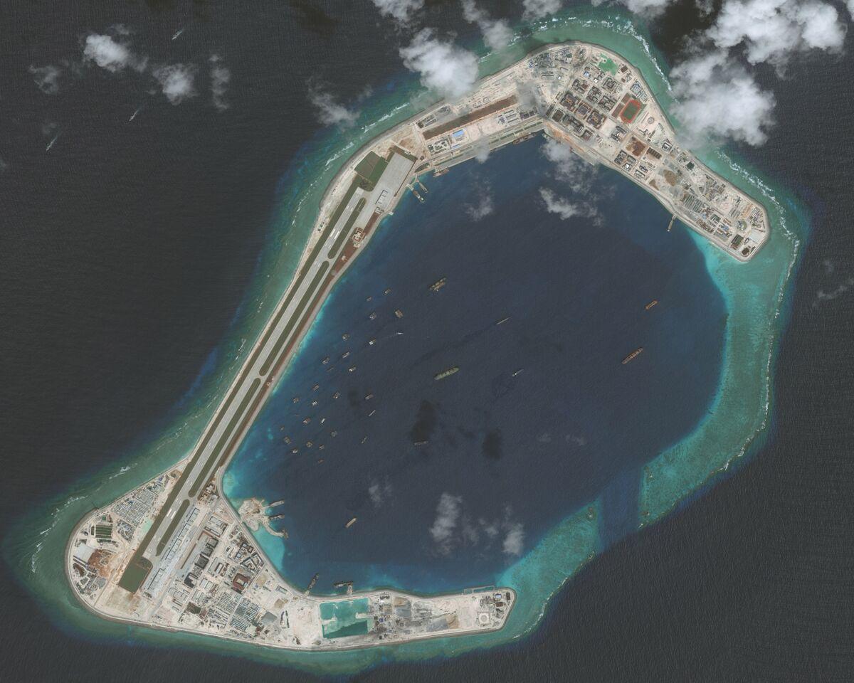 China Sends Military Plane to Third South China Sea Airstrip