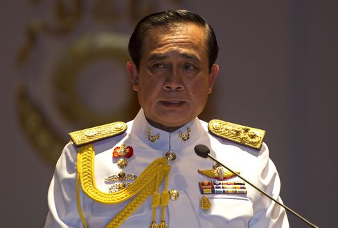 Thai coup leader Prayuth Chan-Ocha