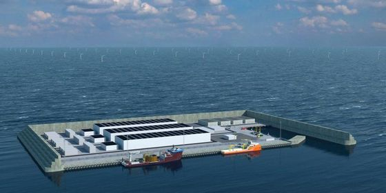 Denmark Agrees on Ownership Structure for Giant Energy Island