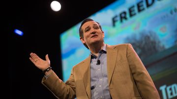 Texas Senator Ted Cruz  speaks at the Iowa Freedom Summit, 1/24/2015