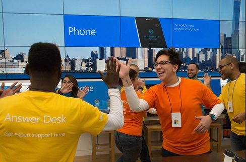Microsoft Corp. Store Opening As Surface Pro Tablet Computer Goes On Sale