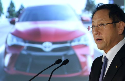 Toyota Motor Corp. Chief Executive Officer Akio Toyoda