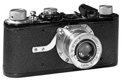 The original Leica, in 1925, was far smaller than the bulky shooters of its time