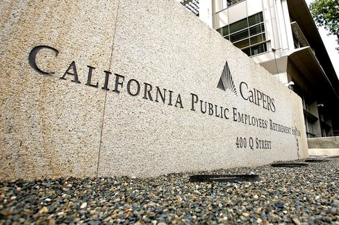 California Public Employee Pension Earns 1% on Investments