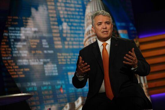 U.S. Shouldn't Relax Venezuela Sanctions, Colombian Leader Says