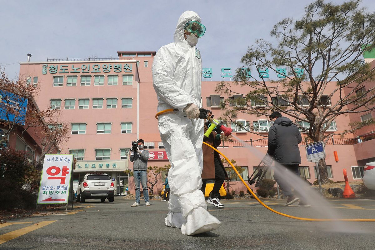 Almost All Patients in South Korean Psychiatric Ward Have Virus