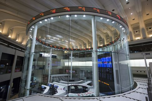 The First Trading Day Of The Year At The Tokyo Stock Exchange