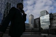 General Views Of Canary Wharf As Citigroup Inc.'s London Landlord Is Said To Seek New Loan For Tower