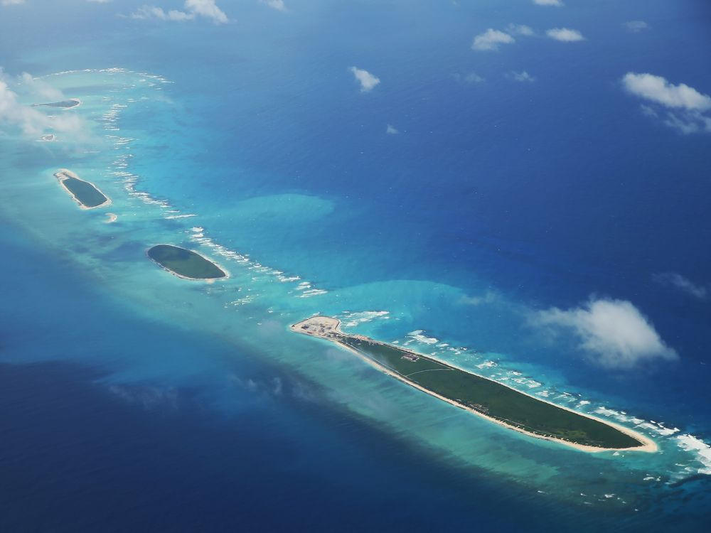 Islands in the Paracel archipelago in theSouth China Sea.