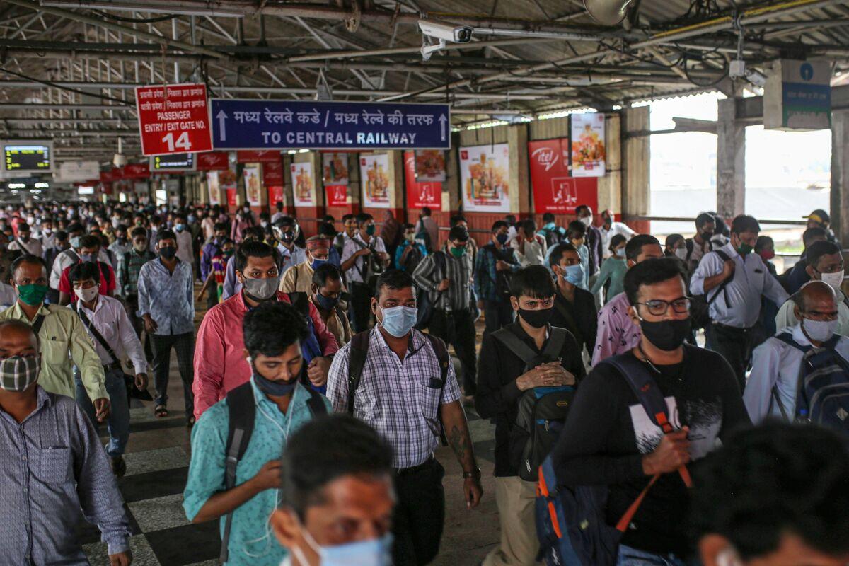 Railway Stock's $3 Billion Loss Spawns Mumbai Trader Meme Fest