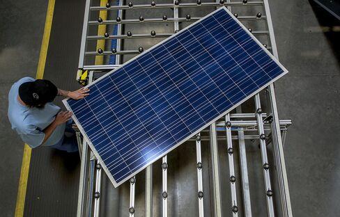 Solar Panel Maker Doubles Output as Prices Drop