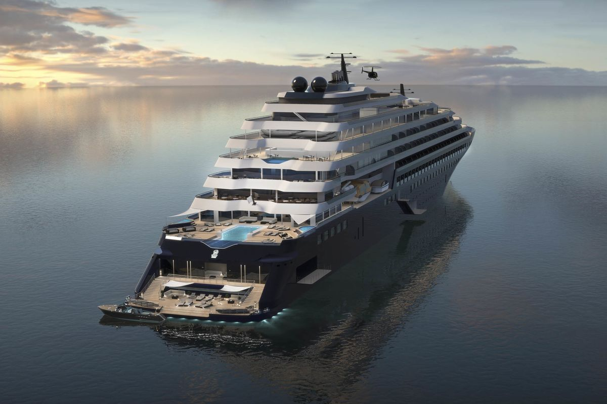 RitzCarlton Yacht Collection Is Building The AntiCruise Ship - How many mph does a cruise ship go