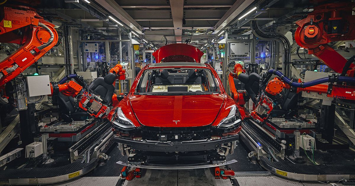 Inside Tesla's Model 3 Factory