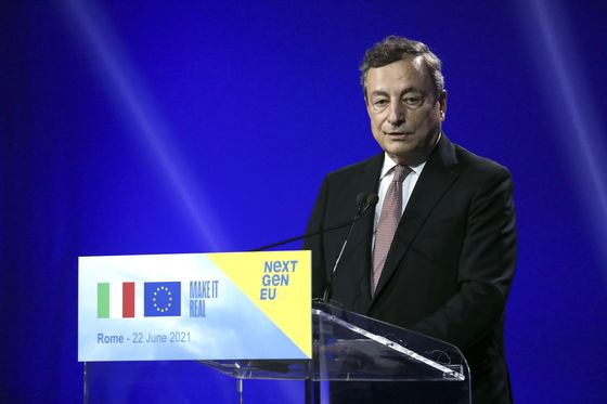 Draghi Insists Euro-Area Fiscal Pact Must Change After Pandemic