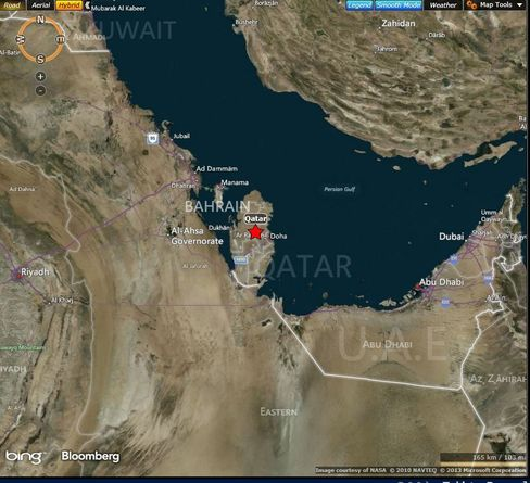 MAP: Qatar