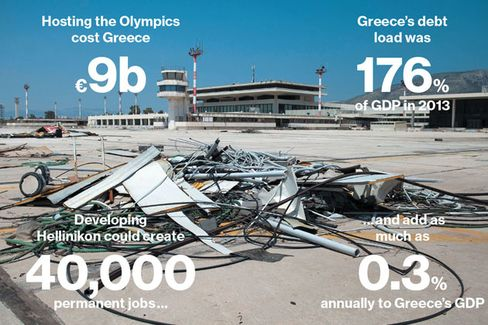 Greece May Finally Sell Some Olympic Venues