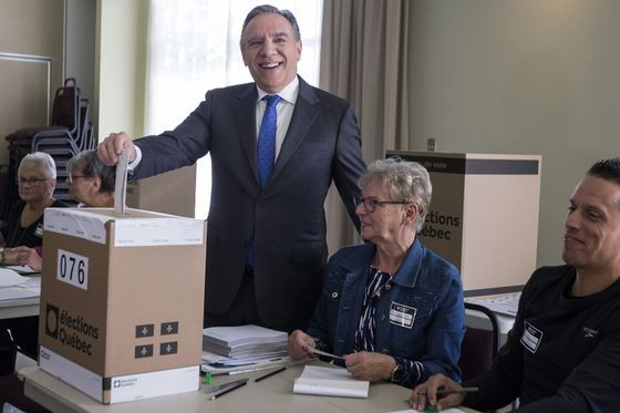 Quebec Decides Whether It's Ready for New Party Amid Dairy Furor