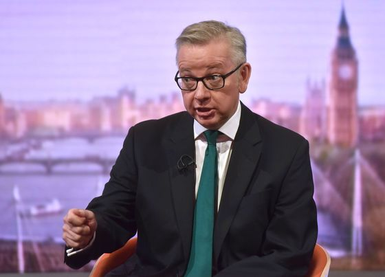 Bank of England's Carney Doing 'Excellent Job,'Ex-Critic Gove Says