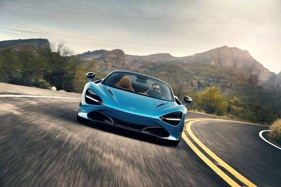 The McLaren 720S Spider Solves Those Sticky Supercar Problems