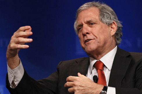 CBS Chief Executive Officer Les Moonves