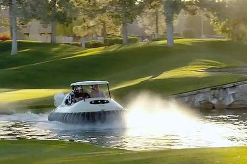 Top Golf Courses on Bubba's Hovercraft: Keep Away
