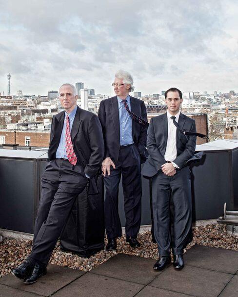 Matthew Lonergan, Trevor Sliwerski and Adrian Edwards