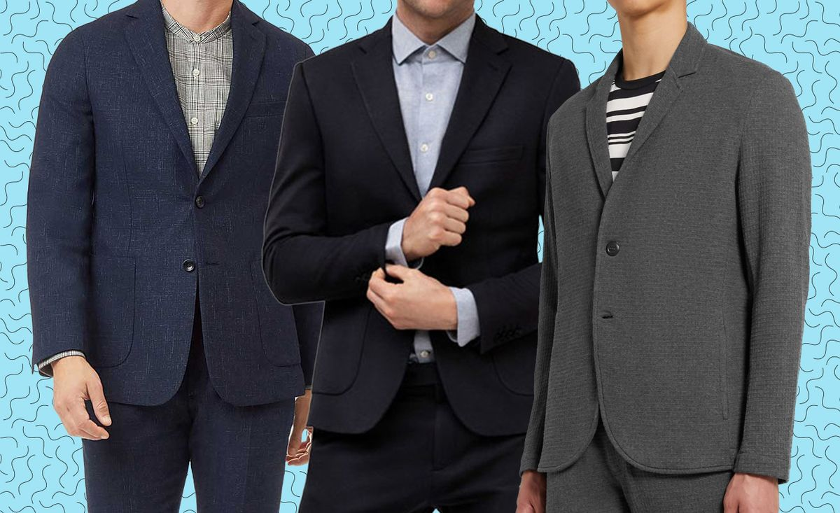 What to Wear When Working From Home? A Blazer That's Secretly Sweatpants