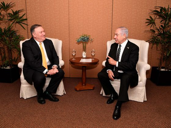 Netanyahu Worked WithPompeo in Jerusalem Embassy Campaign, Official Says