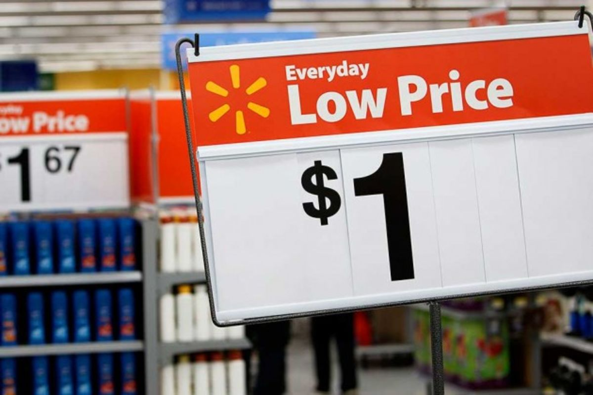 an analysis of the walmart low price system Wal-mart stores walmart five forces analysis porter  some substitutes are more expensive than the low-cost goods available at walmart stores.