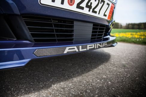 The B6 Alpina is one of two Alpina models available in the United States.